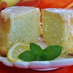 "Lemon-Buttermilk Pound Cake with Aunt Evelyn's Lemon Glaze | ""My mother's blue-ribbon pound cake recipe. It always gets rave reviews."""