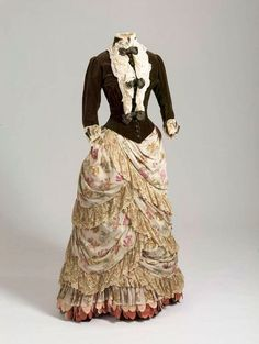 Dress of Empress Maria Feodorovna, 1886-87 From the State Hermitage Museum