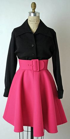 Ensemble Norman Norell (American, Noblesville, Indiana 1900–1972 New York) Date: fall/winter 1967–68