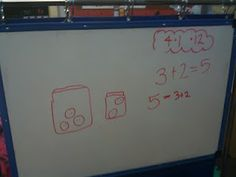Math Pictionary!  A fun and easy way to practice addition and subtraction stories.