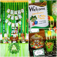 Tres Chic The Party Planner: Adief's 3rd Jungle Junction Themed Birthday Party@...