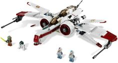 (8088) ARC-170 StarfighterYear: 2010 Pcs: 396 Minifigs: 4 Retail: $59.99 Retired