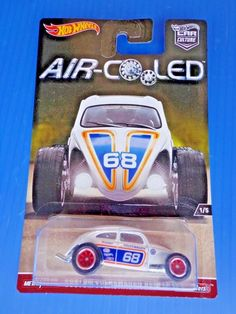 2017 Hot Wheels Volkswagen Beetle WHITE * AIR Cooled Car Culture Real Riders #HotWheels