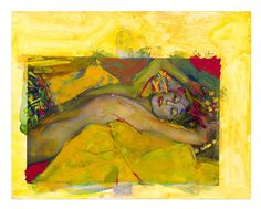 Saul+Leiter,+Painted+Nude