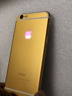 Genuine OEM Apple iPod Touch 6th Generation Gold Housing with Back Camera Used