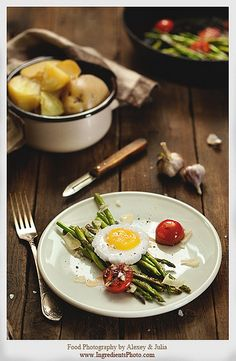 Asparagus with Eggs by Food Photography by Alexey & Julia, via Flickr