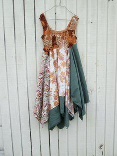 altered clothing / romantic Upcycled clothing / by CreoleSha, $105.00