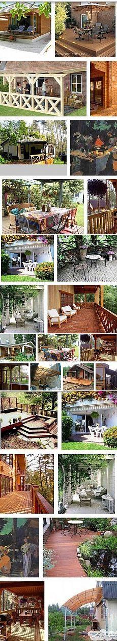 Как самостоятельно построить террасу на даче или приусадебном участке загородного дома своими руками. Методика возведения и лучшие проекты самодельных террас с наглядными иллюстрациями и фото - Ремонт и дизайн дома своими руками
