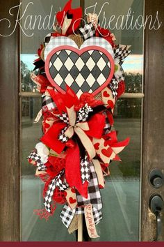 Home Decor Luxury Sharing a Valentine wreat created by Trendy Tree customer, Kandi's Kreations. It's for sale in her Etsy shop. Shop Trendy Tree online for wreath making supplies and seasonal decorations. Valentine Day Wreaths, Valentines Day Decorations, Valentine Day Crafts, Easter Wreaths, Flower Decorations, Valentine Ideas, Holiday Decorations, Spring Wreaths, Wreath Making Supplies