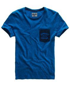 Superdry Grindle Contrast T-shirt - Men's T Shirts