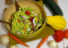 Crochet salad :)