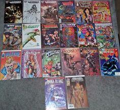 Wild Blue Yonder Bitch Planet Valeria She Bat - Lot of 20 Comics - NM #1 Issues!