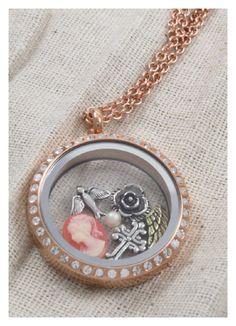 Vintage Lockets | Vintage charms in Rose Gold Locket