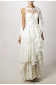 Gala dress as a wedding dress, much budget friendly