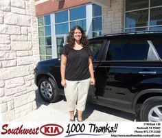 #HappyAnniversary to Wendy Phelps on your 2013 #Kia #Sorento from Anthony Macaluso at Southwest KIA Rockwall!