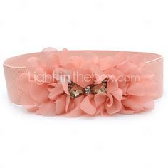 My Flower Girl Sash/Belt With Rhinestones to wear with their ivory Gap dresses on my wedding day!