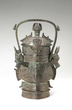 Ritual wine container  China, Baoji, Shaanxi province  Early Western Zhou dynasty, ca. 1050-1000 BCE  Bronze