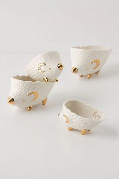 Hedgehog Measuring Cups by anthropologie: Adorable! #Measuring_Cups #Hedgehog