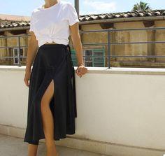 Mood Board | M's #wrapskirt