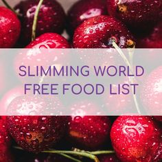 Slimming World Free Food List for 2020 - Slimming Violet - Slimming World Recipes & Advice Slimming World Recipes Extra Easy, Slimming World Pizza, Slimming World Recipes Syn Free, Slimming World Jacket Potato, Syn Free Sausages, Syn Free Breakfast, Fruit Recipes, Cooking Recipes, Syn Free Food