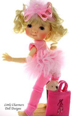 Meadowdolls, Meadow dolls romper, Meadowdolls Patti,  *Little Charmers DD #LittleCharmersDollDesigns