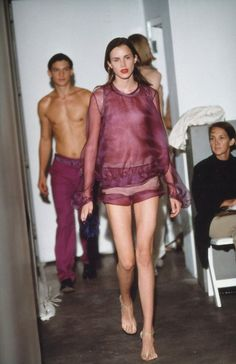 Helmut Lang Spring 2000 Ready-to-Wear Fashion Show