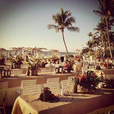 Our beachfront welcome reception tonight @laplayanaples #margowedding - @weddingtidbits- #webstagram