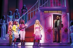 Legally Blonde at the Savoy. One of the best musicals I have ever seen! Very camp, witty, knowing, funny. Sheridan Smith was amazing, it was as if the part was written for her.