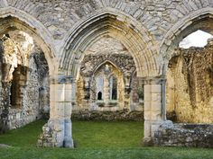 Netley Abbey, Southampton - English Heritage. Open daily, April to September, and weekends only, October to March.