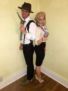 Browse 21 couples costume ideas for Halloween. See these DIY Halloween costumes for your next dress up party. Diy Couples Costumes, Girl Group Costumes, Couple Halloween Costumes For Adults, Scary Halloween Costumes, Diy Costumes, Adult Costumes, Costumes For Women, Couple Costumes, Woman Costumes