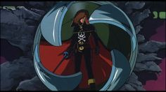 epic Harlock moment from 'Arcadia of My Youth'