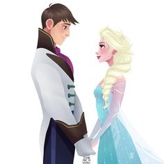 Elsa and Tadashi Hamada