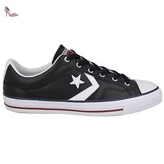 a4a3067bded Converse Mens Star Player Ev Black White Leather Trainers 41.5 EU -  Chaussures converse (