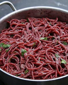 Red Wine Spaghetti | 83 Insanely Popular Dinners That Are Practical And Easy