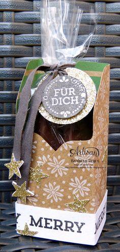 Barbaras Kreativ-Studio : Artisan Team Blog Hop - kleine Verpackungen mit dem Falzbrett für Geschenkschachteln