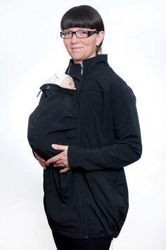 Babywearing softshell coat. on Etsy, €135,72