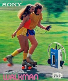 my-retro-vintage — Sony Walkman TPS12 ad for the Stereo cassette...