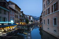 Evening in Annecy by BelaTorok. Please Like http://fb.me/go4photos and Follow @go4fotos Thank You. :-)