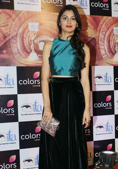 Photos: Mouni Roy, Karishma Tanna, other TV stars at ITA Awards 2016 Pooja Bedi, Sriti Jha, Kumkum Bhagya, Beautiful Bollywood Actress, Indian Designer Outfits, Western Dresses, Indian Celebrities, Bollywood Fashion, Fashion History