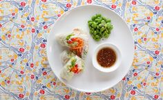 Lunch/Dinner: Epicure's Thai Salad Rolls calories/serving) serve with grilled chicken or fish Epicure Recipes, Healthy Recipes, Smoothie Drinks, Smoothies, Salad Rolls, Thai Salads, Healthy Baking, Healthy Food, Lean Meals