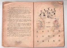 """ANOS DOURADOS: IMAGENS & FATOS: IMAGENS - Escola - Livro Escolar: """"CARTILHA DA INFÂNCIA"""" 1939"""