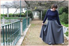 Long godé skirt look #maxiskirt #partylook #classylook