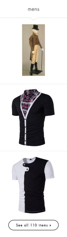 """""""mens"""" by thesassystewart on Polyvore featuring men's fashion, men's clothing, men's shirts, men's t-shirts, mens panel shirts, mens plaid shirts, mens faux leather shirt, mens t shirts, mens shirts and mens short sleeve shirts"""