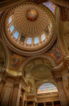 Dome of the Pantheon - Paris, France