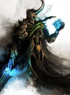 Medieval Avengers Loki