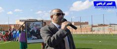 كلمة رئيس المجلس الجماعي لتيزنيت في افتتاح ملعب بين النخيل