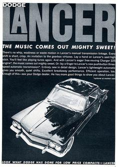 1961 Dodge Lancer Advertising Car and Driver April 1961 | Flickr - Photo Sharing!