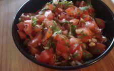 Mexikansk salsa med tomat och koriander