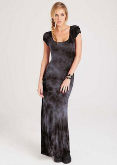 Taryn Cloud Dye Maxi Extended Length - View All Dresses - Dresses - Clothing - Alloy Apparel