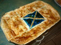 Scottish Steak Pie with the Scottish Flag baked into the crust. Troughing one always makes me feel verrrrrry Scottish. Beautiful Places In The World, Most Beautiful Cities, Macaroni Pie, Scottish Festival, New Years Eve Traditions, Dna Tree, Thanks For The Memories, Celtic, Scotland